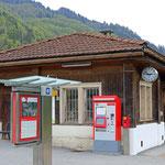 Schweizer-Eisenbahnen - Bahnhof Furna