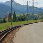 Schweizer-Eisenbahnen - Bahnhof Acla da Fontauna