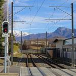 Schweizer-Eisenbahnen Bahnhof Serocca