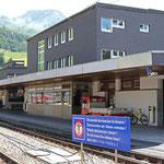 Schweizer-Eisenbahnen - Bahnhof Andermatt