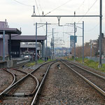 Schweizer-Eisenbahnen Bahnhof Horn