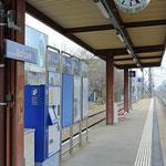 Schweizer-Eisenbahnen Bahnhof Otelfingen Golfplatz