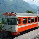 November 2017: FLP Zug im Bahnhof von Lugano (Aufnahme vom Mai 2008).