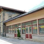 Schweizer-Eisenbahnen - Bahnhof Innichen