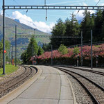 Schweizer-Eisenbahnen Bahnhof Hospental