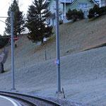 Schweizer-Eisenbahnen - Bahnhof Schwende
