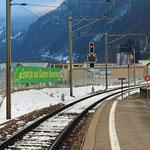 Schweizer-Eisenbahnen Bahnhof Linthal Braunwaldbahn