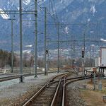 Schweizer-Eisenbahnen Bahnhof Felsberg