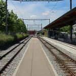 Schweizer-Eisenbahnen Bahnhof Wil