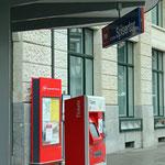 Schweizer-Eisenbahnen Bahnhof St. Gallen Spisertor