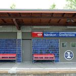 Schweizer-Eisenbahnen Bahnhof Nänikon-Greifensee