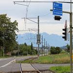 Schweizer-Eisenbahnen - Bahnhof Mosen