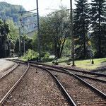 Schweizer-Eisenbahnen Bahnhof Klus