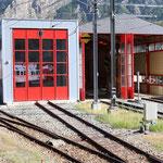 Schweizer-Eisenbahnen - Bahnhof Vernayaz
