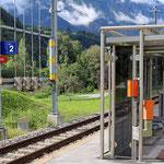 Schweizer-Eisenbahnen Bahnhof Bitsch