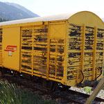 Schweizer-Eisenbahnen RhB Güterwagen Xk - 9323
