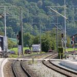 Schweizer-Eisenbahnen - Bahnhof Malans