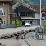 Schweizer-Eisenbahnen Bahnhof Oberdorf BL Winkelweg