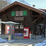 Schweizer-Eisenbahnen - Bahnhof Klosters Dorf