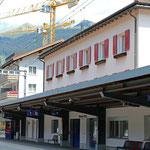 Schweizer-Eisenbahnen - Bahnhof Klosters Platz