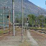Schweizer-Eisenbahnen - Bahnhof Domodossala