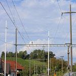 Schweizer-Eisenbahnen - Bahnhof Dinhard