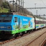 März 2020: SOB Voralpen-Express.  (Aufnahme vom April 2019.)
