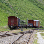 Schweizer-Eisenbahnen - Bahnhof Muttbach-Belvédère