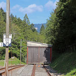 Schweizer-Eisenbahnen - Bahnhof Gänsbrunnen