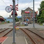 Schweizer-Eisenbahnen - Bahnhof Birrwil