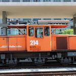 Schweizer-Eisenbahnen - Ge 3/3 * 214