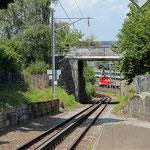 Schweizer-Eisenbahnen - Bahnhof Seebleiche