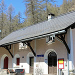Schweizer-Eisenbahnen Bahnhof Ftan Baraigla
