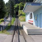 Schweizer-Eisenbahnen Bahnhof Ruderbach