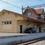 Schweizer-Eisenbahnen - Bahnhof Häggenschwil-Winden