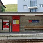 Schweizer- Eisenbahnen Bahnhof Schützengarten