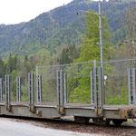 Schweizer-Eisenbahnen RhB Güterwagen Sp-w - 8356