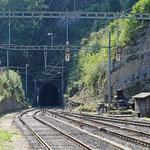 Schweizer-Eisenbahnen Bahnhof Gänsbrunnen