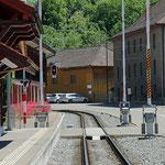 Schweizer-Eisenbahnen - Bahnhof Wängi