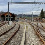 Schweizer-Eisenbahnen - Bahnhof Bauma