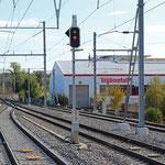 Schweizer-Eisenbahnen - Bahnhof Lengwil