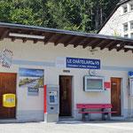 Schweizer-Eisenbahnen - Bahnhof Le Châtelard VS