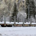Schweizer-Eisenbahnen - Bahnhof Versam-Safien