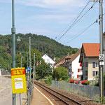 Schweizer-Eisenbahnen - Bahnhof Niederdorf