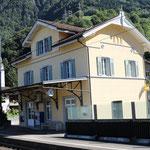 Schweizer-Eisenbahnen Bahnhof Sisikon
