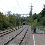 Schweizer-Eisenbahnen Bahnhof Gübsensee