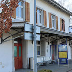 Schweizer-Eisenbahnen Bahnhof Uttwil