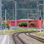 Schweizer-Eisenbahnen Bahnhof Bonaduz