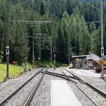 Schweizer-Eisenbahnen Bahnhof Davos Wolfgang