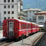 Schweizer-Eisenbahnen - Bahnhof Tirano